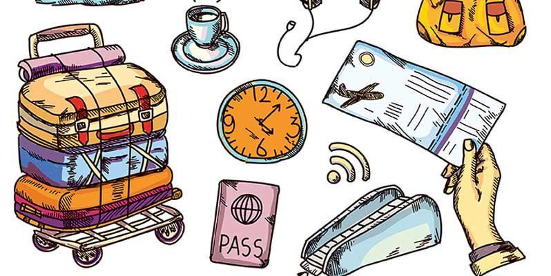 boulevard-hannover-airport-handgepaeck-reiseutensilien-illustration