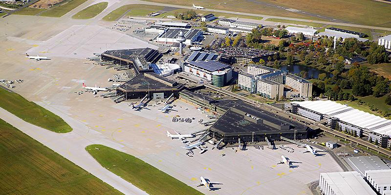 Luftaufnahme-Hannover-Airport