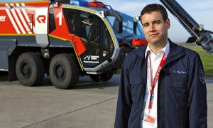 #askthefirefighter-Interview-Leiter der Feuerwehr-Hannover-Airport
