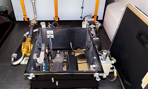 Friction Tester-fünf Räder-Innenraum