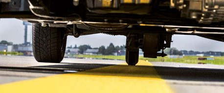 Friction Tester-fünf Räder-Landebahnprüfung-Airport