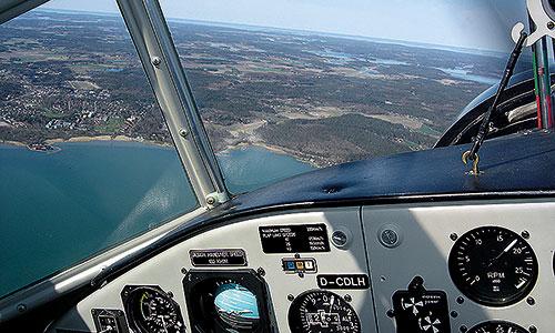 Luftfahrt-Ju-Ausblick
