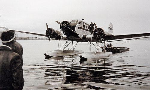 Ju-Wasserflugzeug-Geschichte-Flugzeug