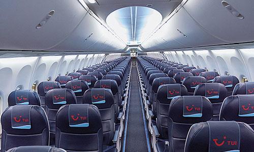 Boeing 737 MAX 8-TUI-Kabine-Kabinendesign-Neugestaltung Innenraum