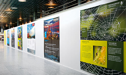 Bauwand-Umbau Terminal C-Hannover Airport