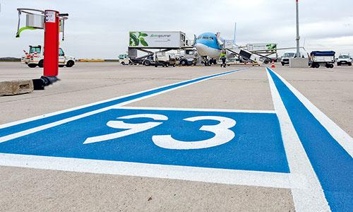 Umbau-Vorfeld-Hannover Airport