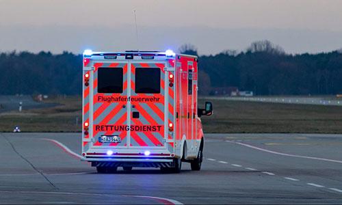 RTW-Einsatz-Vorfeld