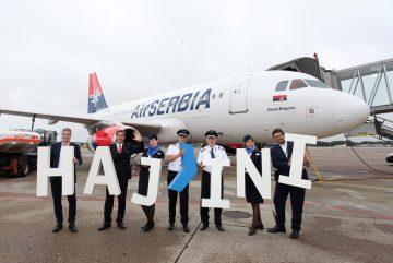 Willkommen am HAJ. AirSerbia