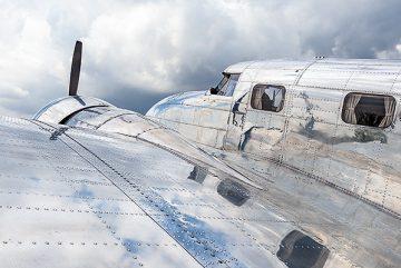 Lockheed-Elektra 12-Fliúg-Flughafen-Hannover