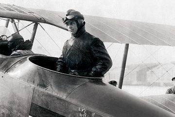 Pilot-Postflugzeug