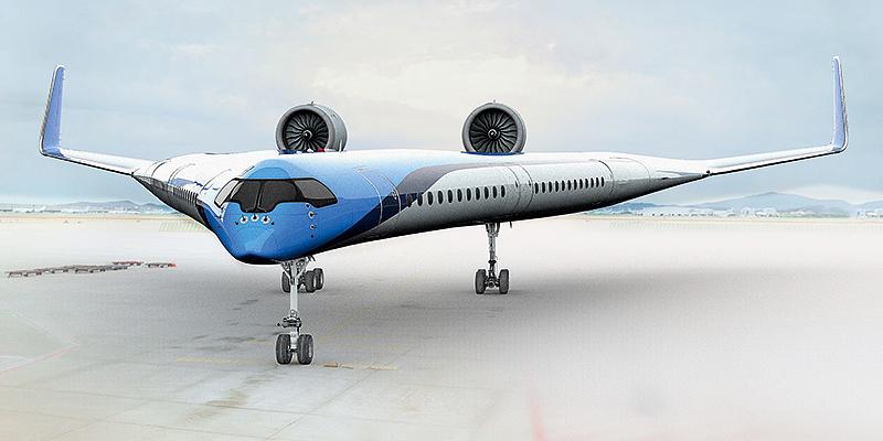 Flugzeug-KLM