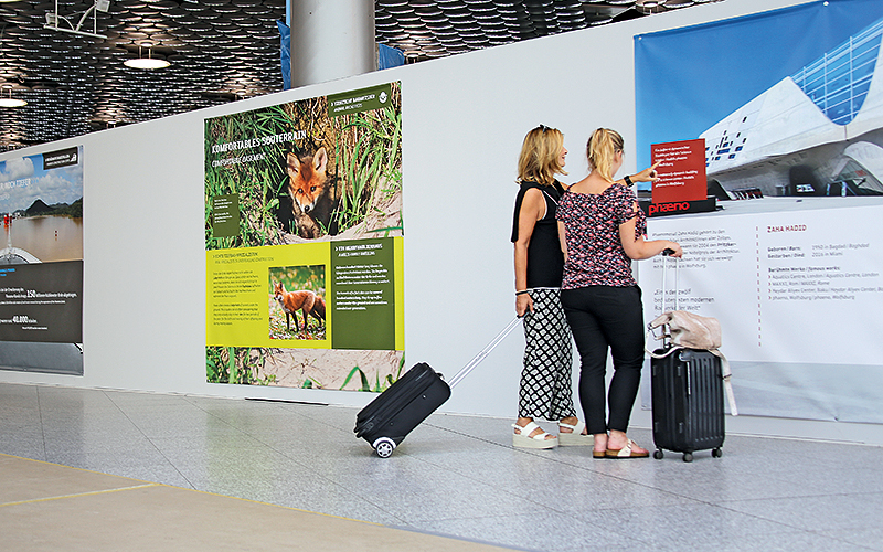 Informatik-Stellwand-Flughafen-Hannover-Umbau