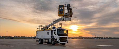 Spezialfahrzeug-Flugzeug-Enteisung